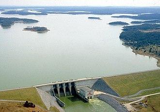 Percy Priest Lake - J. Percy Priest Dam