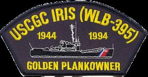 USCGC Iris (WLB-395) - Image: USCGC Iris Badge
