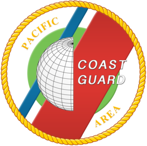 Organization of the United States Coast Guard - Pacific area emblem