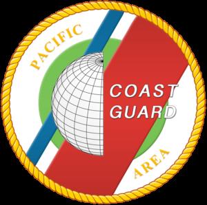 Coast Guard Island - USCG Pacific area emblem