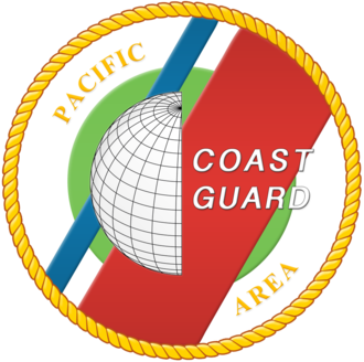 Coast Guard Island - USCG Pacific area emblem