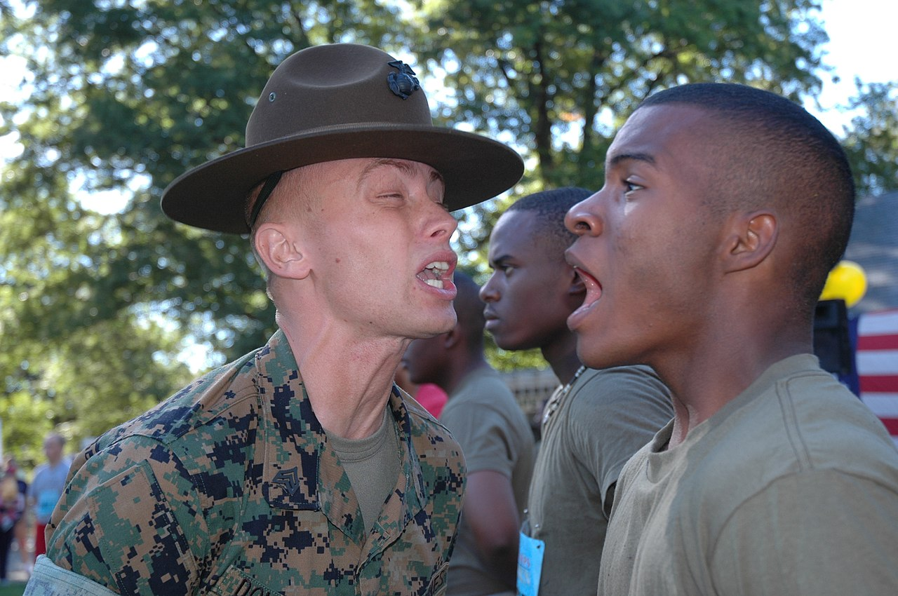 Pictures Of Marine Drill Instructors Screaming In People's ...