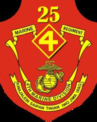 USMC - 4th Division 25th Regiment