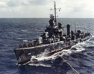 <i>Gleaves</i>-class destroyer Destroyer class of the US Navy