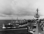 USS Chipola (AO-63) alongside USS Constellation (CVA-64) in March 1964.jpg