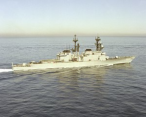 Hewitt underway off San Diego c.1981