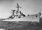USS Jonas Ingram (DD-938) underway in June 1957.jpg