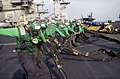 US Navy 030123-N-4142G-013 Flight deck crew members rig the emergency barricade net.jpg