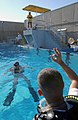 US Navy 030212-N-5862D-035 Students at the Naval Diving and Salvage Training Center undergo various training scenarios to prepare them for duties involving underwater emergencies and procedures.jpg