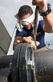 US Navy 030220-N-5862D-079 practicing building a flange while blindfolded.jpg