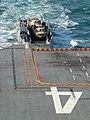 US Navy 080220-N-5180F-018 Landing Craft Unit (LCU) 1661 of Assault Craft Unit (ACU) 2 prepares to come aboard the amphibious assault ship USS Nassau (LHA 4).jpg