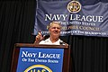 US Navy 090624-N-8273J-135 Chief of Naval Operations (CNO) Adm. Gary Roughead delivers remarks during the 2009 annual Navy League Dinner in Philadelphia.jpg