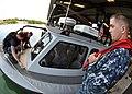 US Navy 110929-N-WW127-225 Boatswain's Mate 2nd Class Christopher Pullon and Boatswain's Mate 2nd Class Jason Mickel instruct Quartermaster 3rd Cla.jpg