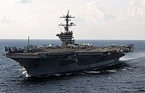 US Navy 120120-N-GZ832-328 The Nimitz-class aircraft carrier USS Carl Vinson (CVN 70) is underway in the Arabian Sea.jpg