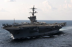 US Navy 120120-N-GZ832-328 The Nimitz-class aircraft carrier USS Carl Vinson (CVN 70) is underway in the Arabian Sea.jpg