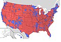 US presidential election 2004 results by county.jpg