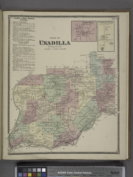 File:Unadilla Village Business Directory.; Town of Unadilla, Otsego Co. N.Y. (Township); Sand Hill (Village); Unadilla Centre (Village) NYPL1602769.tiff