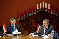 Ungārijas parlamenta priekšsēdētāja oficiālā vizīte Latvijā (8124559764).jpg