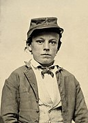 Unidentified young soldier in Confederate infantry uniform.jpg