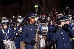 United States Air Force Band passes presidential reviewing stand 130121-Z-QU230-341.jpg
