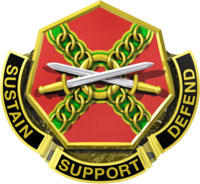 United States Army Installation Management Command Distinctive Unit Crest