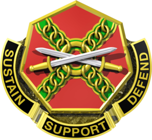 Joint Base Lewis–McChord - Image: United States Army Installation Management Command Distinctive Unit Crest