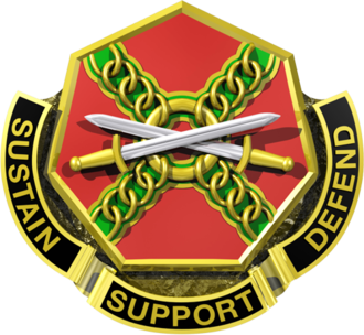 Lucius D. Clay Kaserne - Image: United States Army Installation Management Command Distinctive Unit Crest