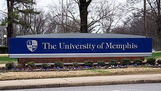 University of Memphis - University of Memphis welcome sign