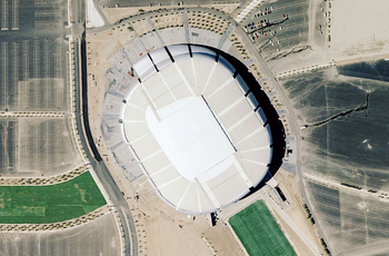 State Farm Stadium from a bird's-eye view UniversityofPhoenixStadiumnasa.png