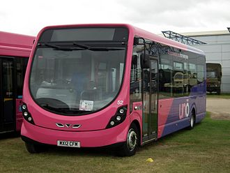 Uno (bus company) - Wright StreetLite at Showbus in September 2012