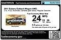 Used Car Fuel Economy Label (9729343093).jpg