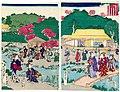 Utagawa Kunisada II - A Visit to the Palace Garden.jpg