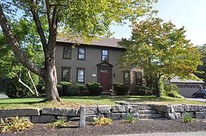 Sylvanus Holbrook House - Image: Uxbridge MA Sylvanus Holbrook House