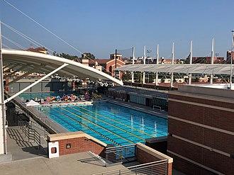 Uytengsu Aquatics Center - Image: Uytengsu Aquatics Center Competition and Dive Pool