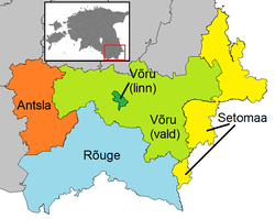 Võru municipalities 2017.png