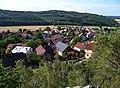 Výhled z Hudlické skály, směr Hudlický vrch.jpg