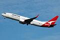 VH-VXD 'Tenterfield' Boeing 737-838 Qantas (8684434729).jpg
