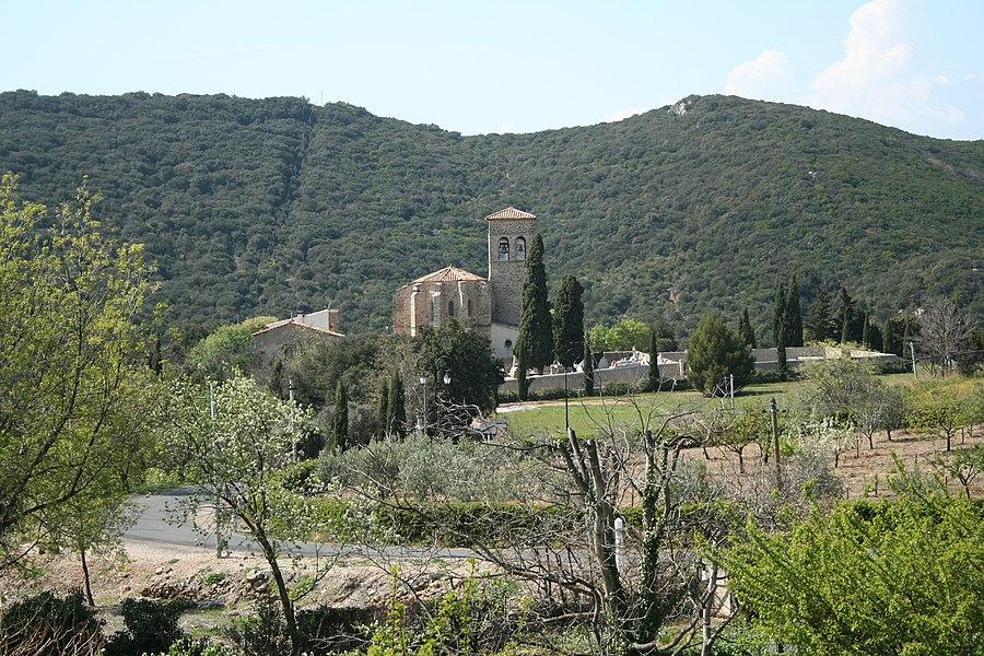 Vailhan (Hérault)- église Notre-Dame.