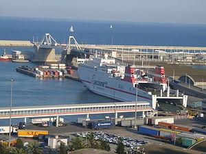 Vaixell Trasmediterranea (vist des de Miramar).JPG