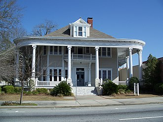 National Register of Historic Places listings in Lowndes County, Georgia - Image: Valdosta GA Converse Dalton House 01