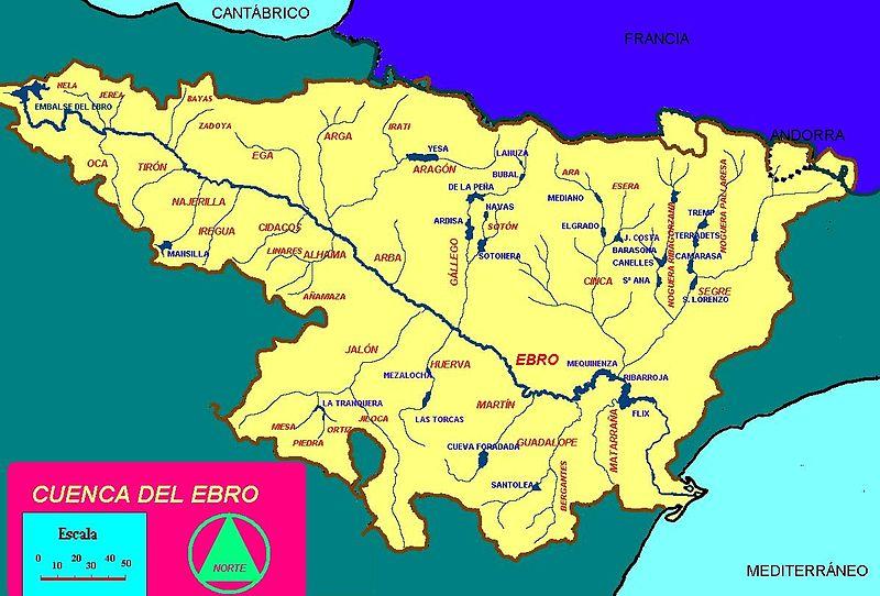 Rio Tambre Mapa Fisico.Losriosdeespana Fernandojromerob2