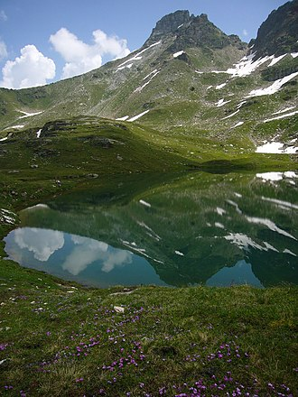 Guraletschsee - Lake with Guraletschhorn