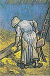 Van Gogh - Bäuerin beim Strohschneiden (nach Millet).jpeg