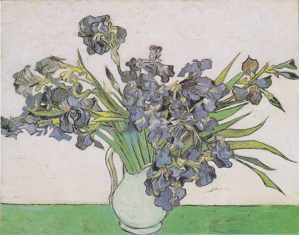 Van Gogh - Vase mit Schwertlilien