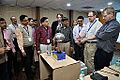 Van de Graaff Generator Experimentation - Indo-Finnish-Thai Exhibit Development Workshop - NCSM - Kolkata 2014-11-27 9747.JPG