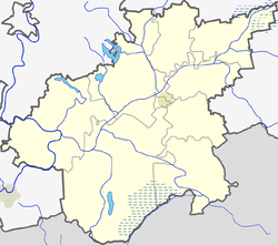 Čižiūnai is located in Varėna District Municipality