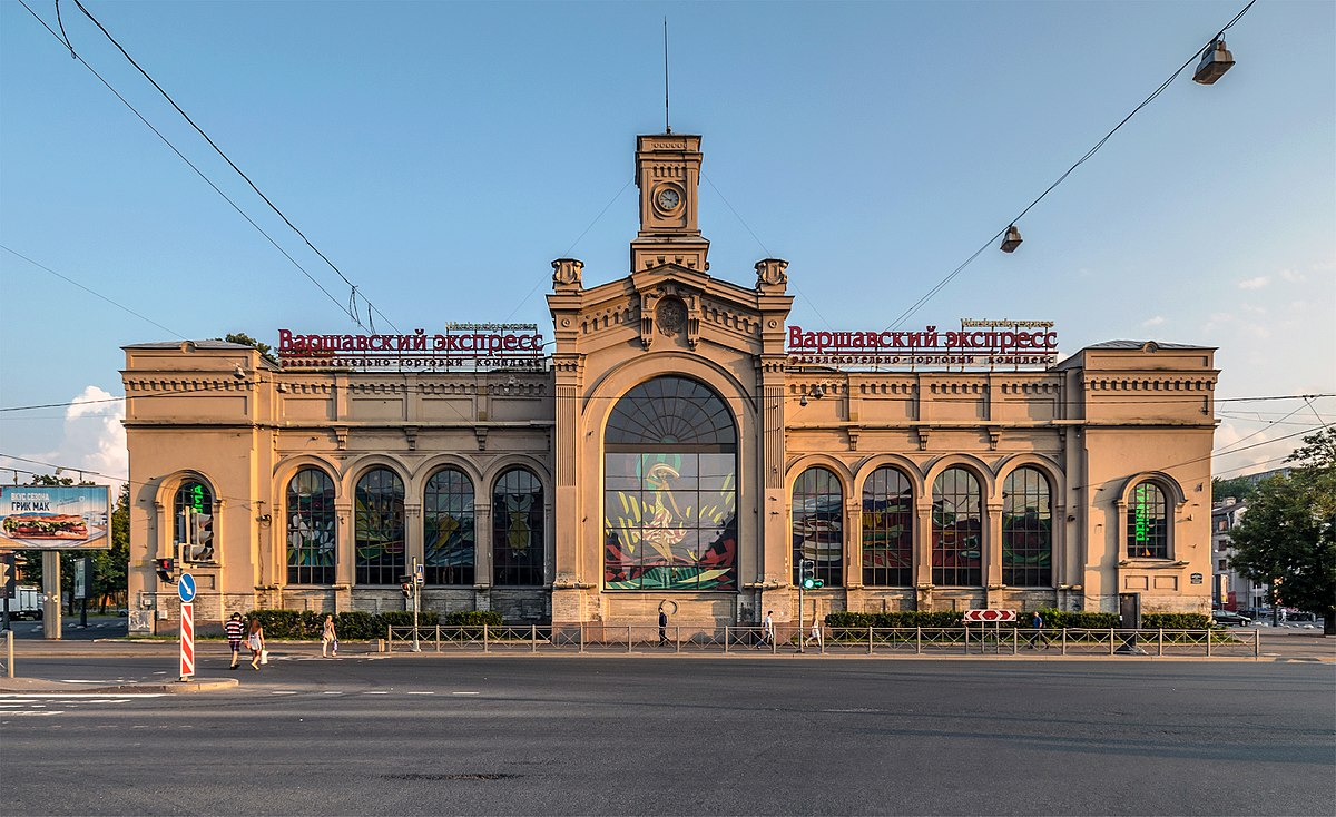 Varshavsky railway station - Wikipedia