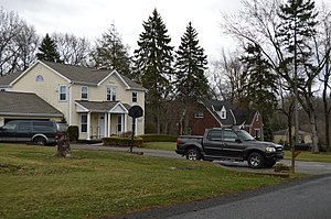 McCandless, Pennsylvania - Typical suburban street