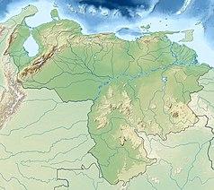Mapa lokalizacyjna Wenezueli