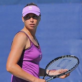 Vera Zvonareva - Zvonareva at the 2010 US Open